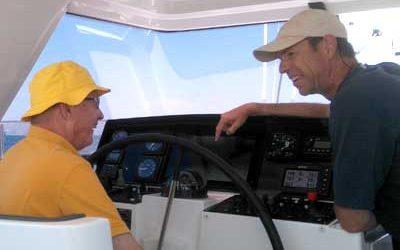 Skippertraining   Schiffsführung   technische Schulung an Bord   Sportbootführerscehin   Segelausbildung