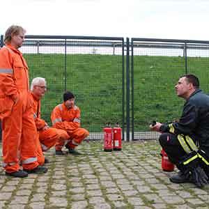 Feuer an Bord, Vorbereitung
