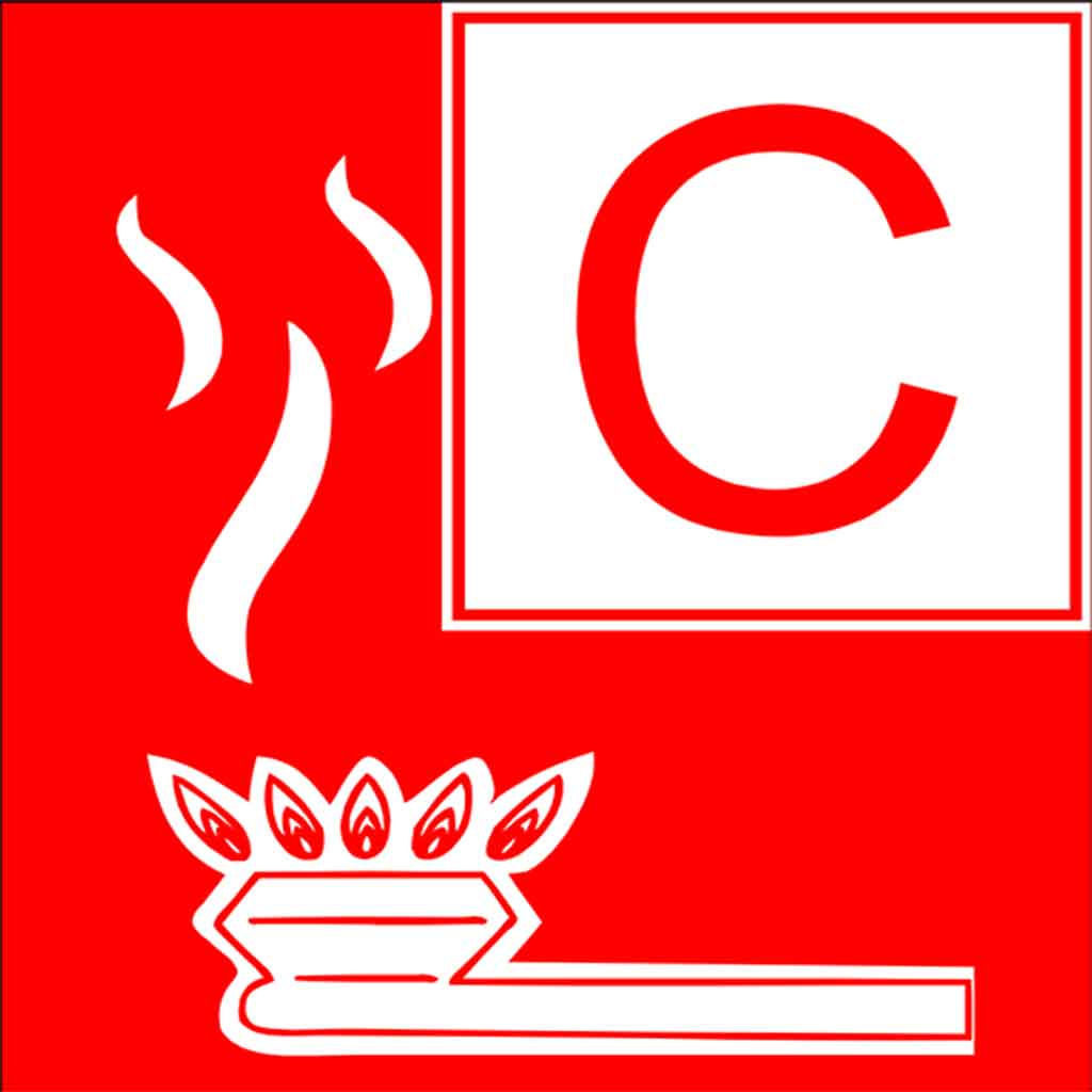 Feuer an Bord, Brandklasse C