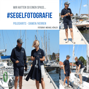 Seebären Bord Kollketion Segelbekleidung Fotoshooting