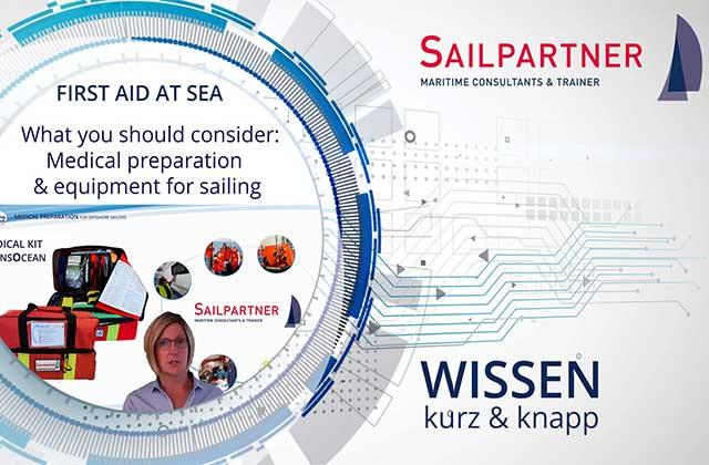 Medizin auf See, Wissen kurz und knapp, World Crusing Club, World Sailing, Medizin an Bord, Medizinische Ausrüstung Segler