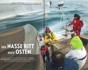 Yacht Artikel 2015-24 | Ser nasse rit nach Osten | Skipper | ISAF Sicherheitstraining | Überlebenstraining| Skipper | Incentive