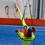 ISAF Sicherheitstraining | ISAF Training | Überlebenstraining | Offshore Sea Survival Refresher | Jonbuoy mk5