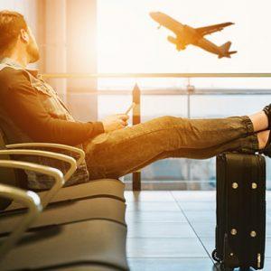 Rettungwesten im Flugzeug Gesetz